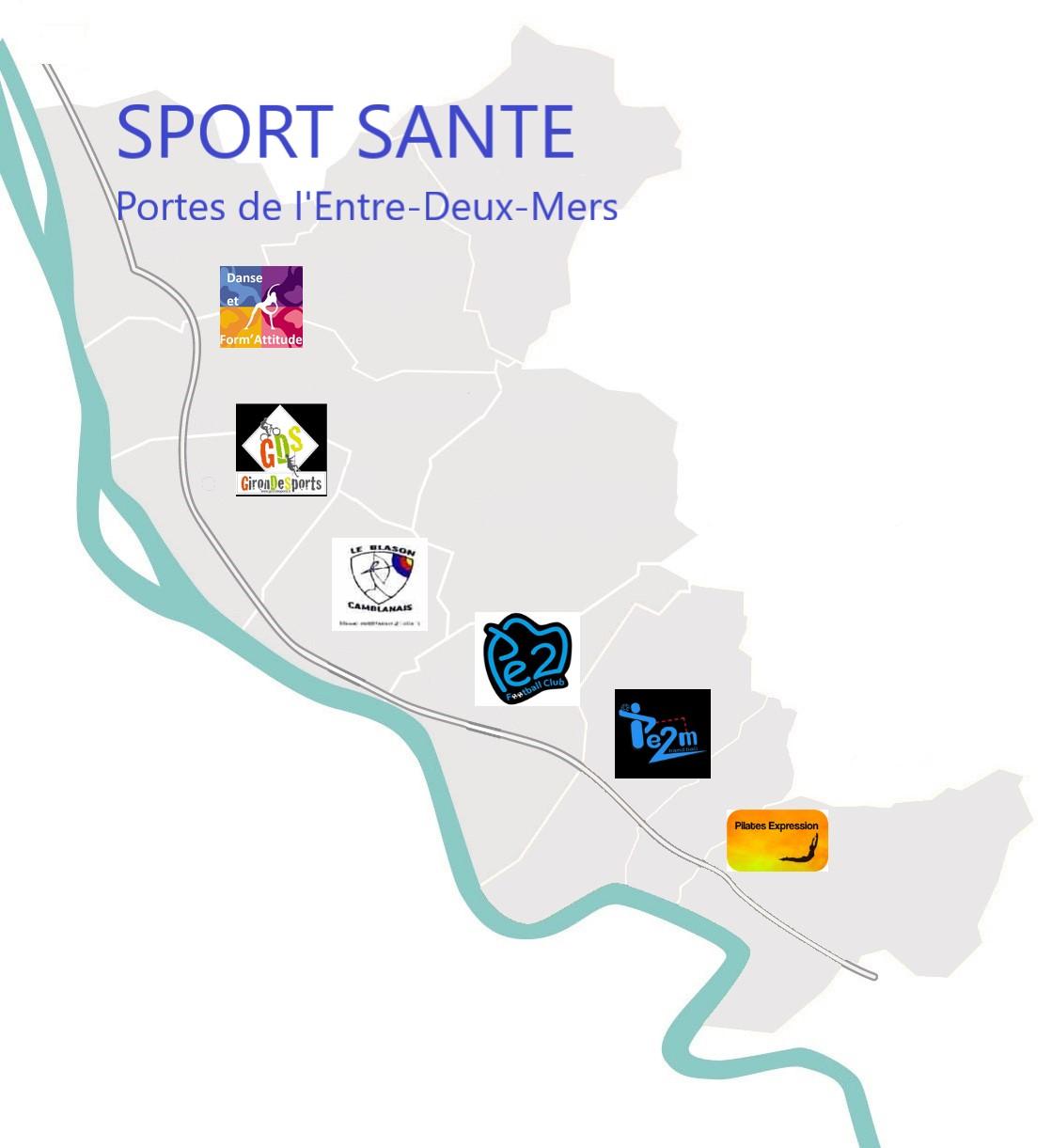 Un collectif sport-santé sur la CDC des Portes de l'Entre- Deux-Mers